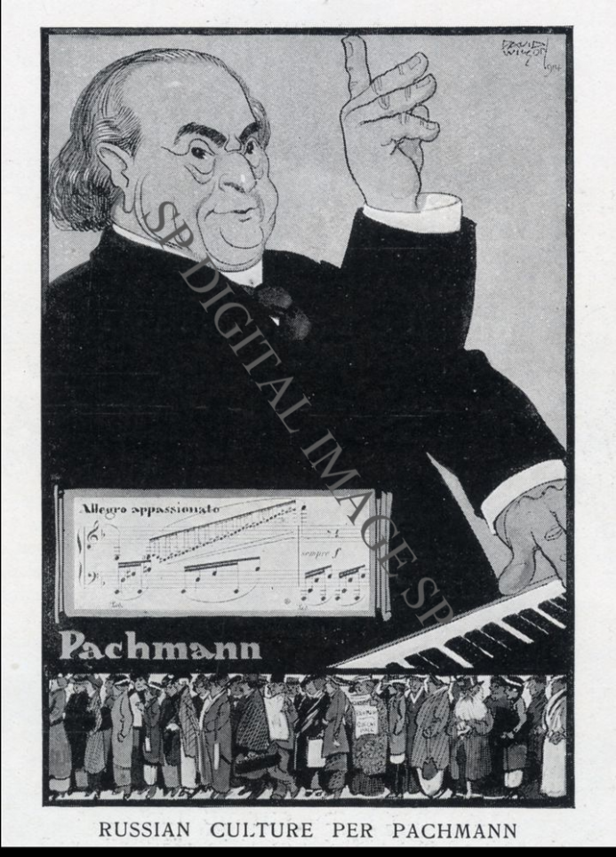 Digital Image Pachmann Cartoon